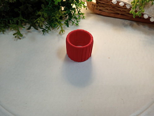 Porta Guardanapo vermelho