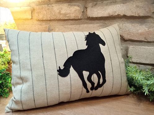 Almofada Cavalo correndo