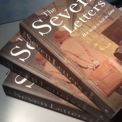 The Seven Letters Book pile