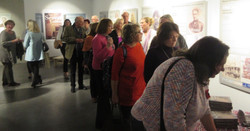 The Seven Letters Book signing queue