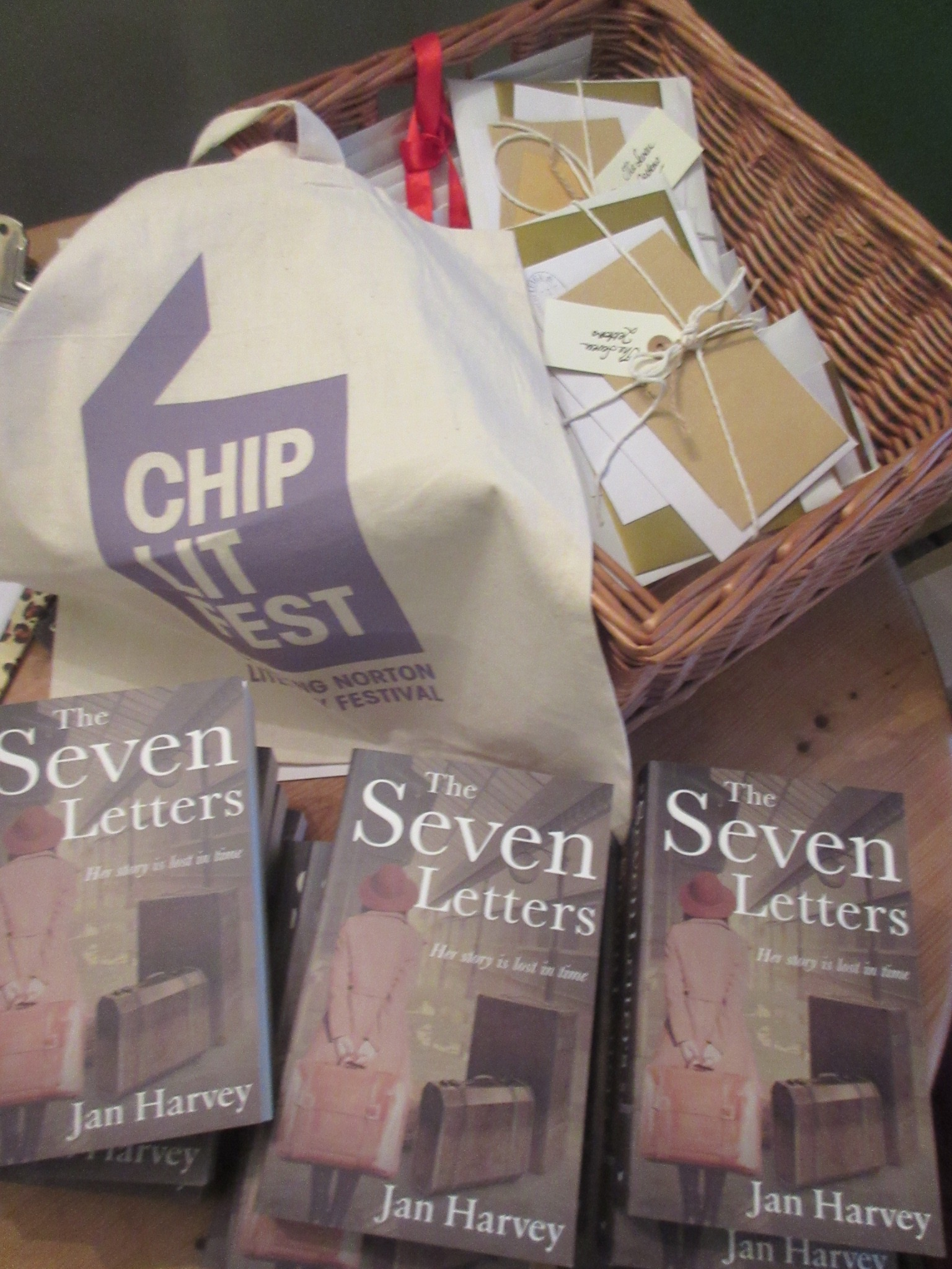 ChipLitFest Bag with The Seven Letters
