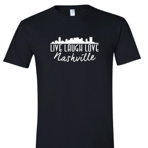 Live Laugh Love Nashville Unisex T- Shirt