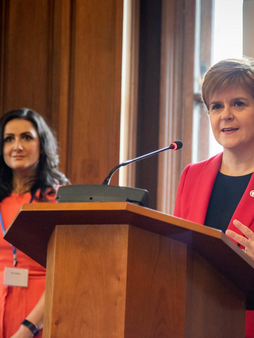 Host, The Scottish Government, International Women's Day