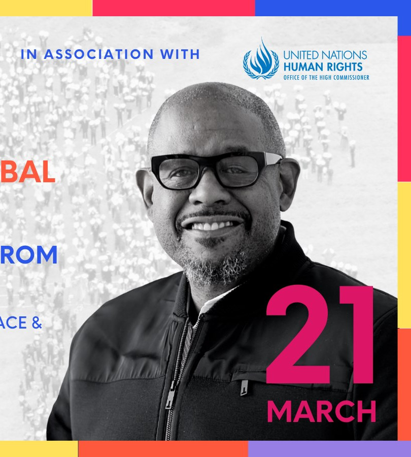 Forest Whitaker, Peace One Day - Production Role