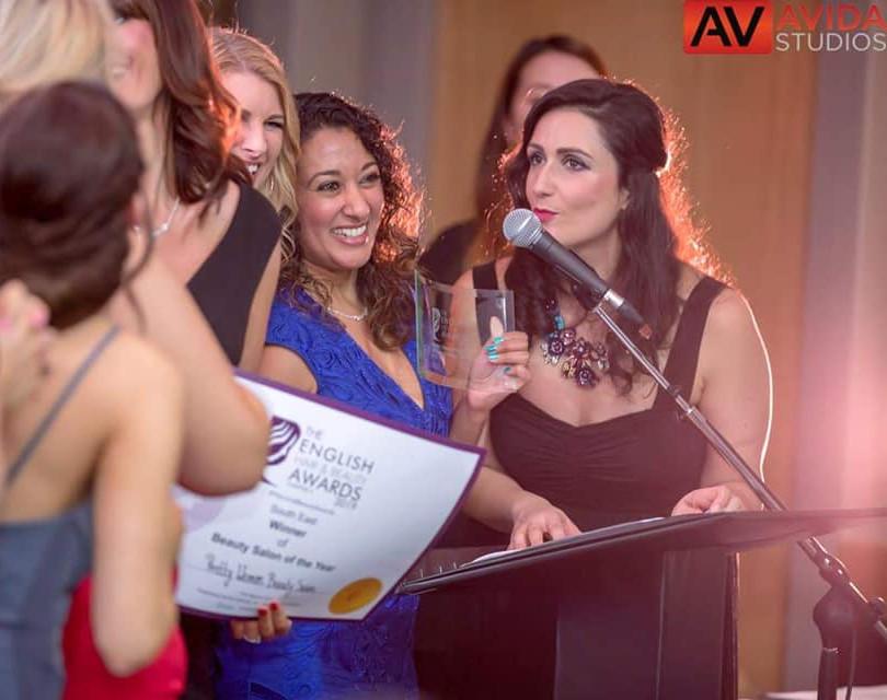 Host, English Hair & Beauty Awards
