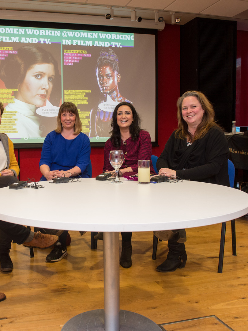 Panel, Edinburgh University, Women In TV