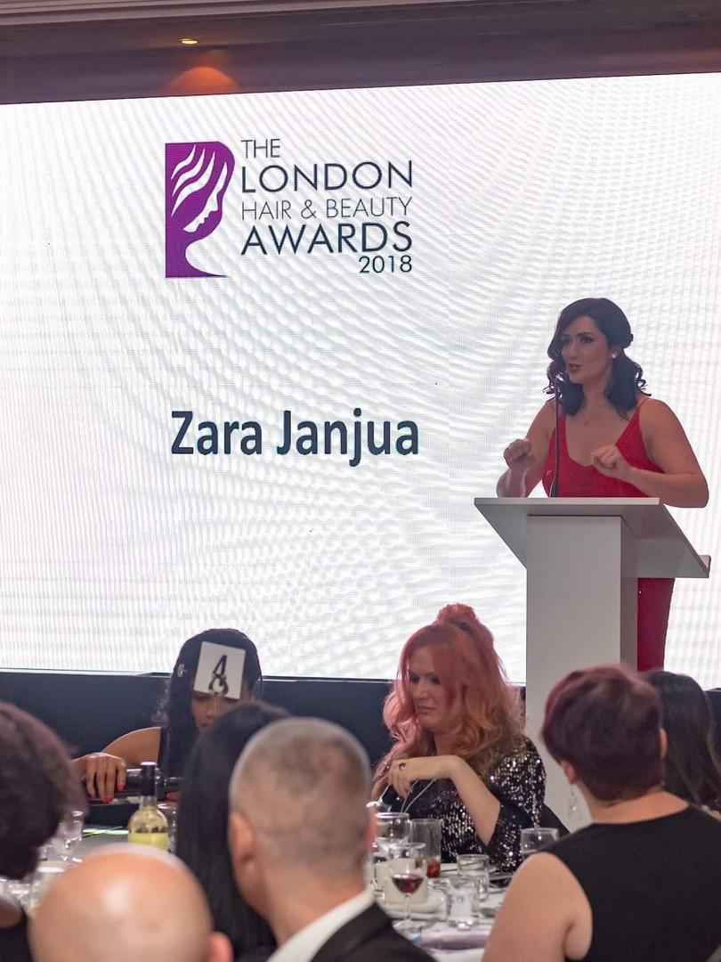 Host, The London Hair & Beauty Awards