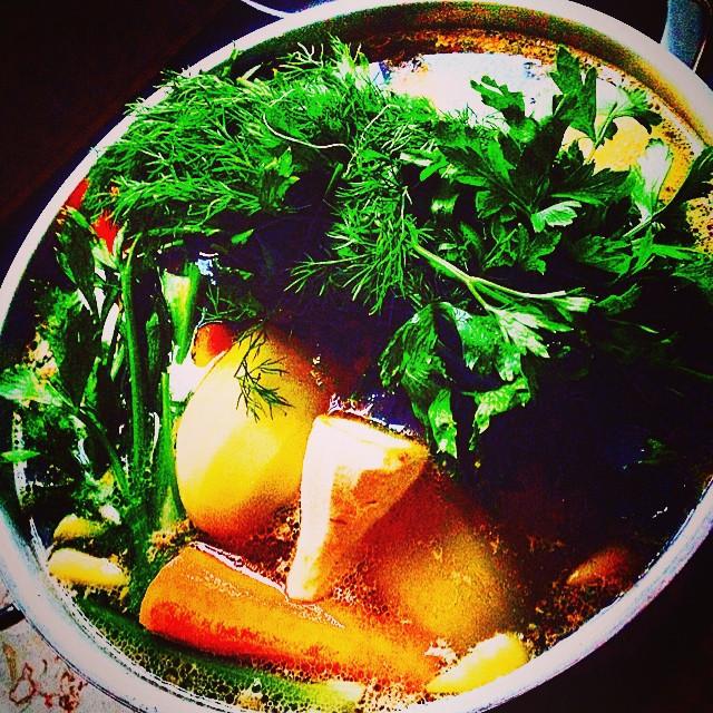 Instagram - Chicken noodle soup .(the jewish penicillin) It has many variations