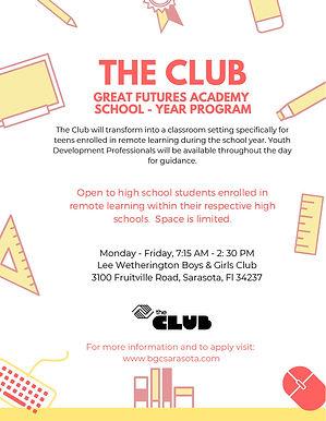 B&G The Club - School Year Program - Gre
