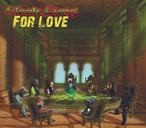 Blaak Lung - For Love CD