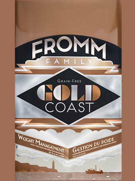 Fromm Gold Coast Weight Management 12 LB Bag