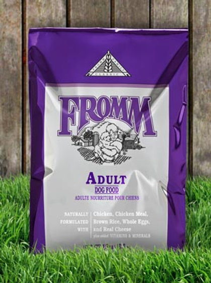 Classic Adult Fromm Family Dry Dog Food 15LB