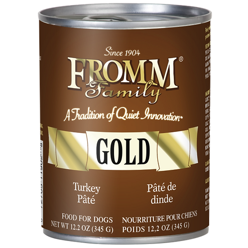 Fromm Gold Turkey Dog Wet Food 12.2oz Can