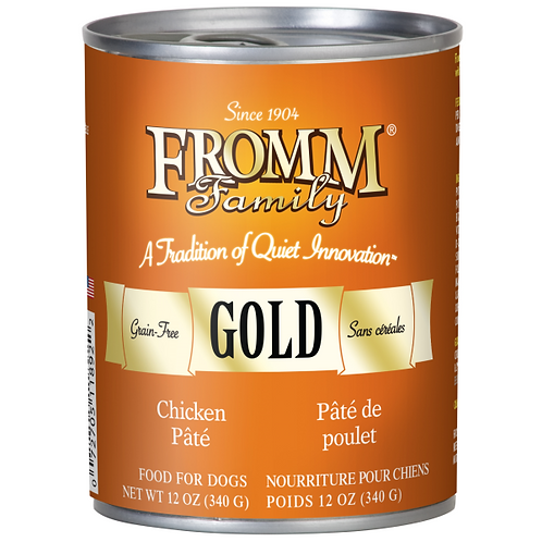 Fromm Gold Chicken Dog Food Wet 12.2oz Can