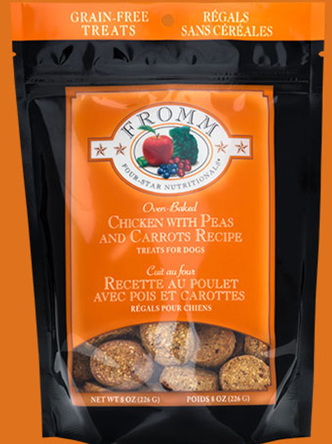 (Grain Free) Fromm Chicken with Peas & Carrots Dog Treats