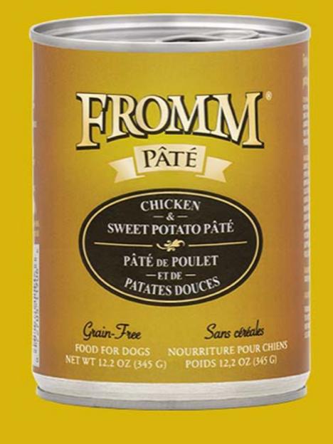 Fromm Pate Chicken & Sweet Potato Wet Food