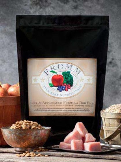 Pork & Applesauce Fromm Family Dog Dry Food 15LB