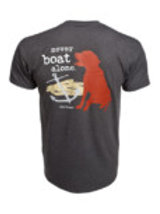 Dog Is Good (Never Boat Alone) T-Shirt Small Unisex