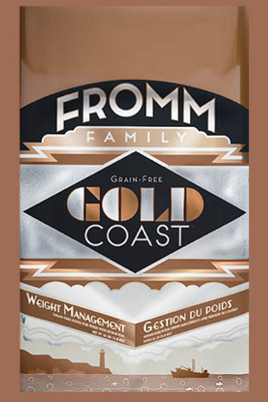 Fromm Gold Coast Weight Management 26 LB Bag