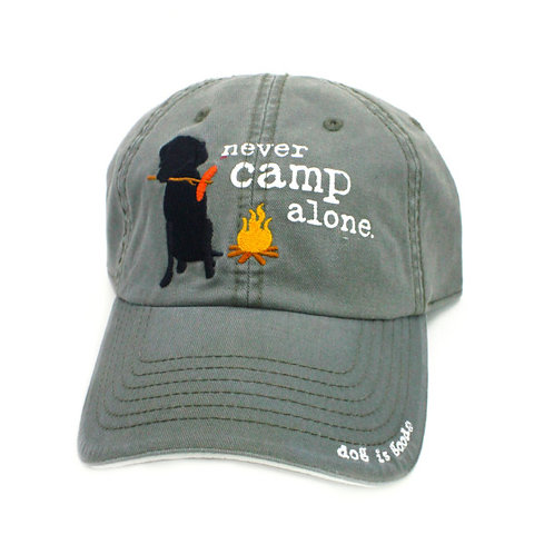 Dog Is Good Hat:Never Camp Alone