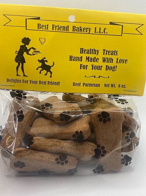 Beef Parmesan Dog Treats 8oz Bag
