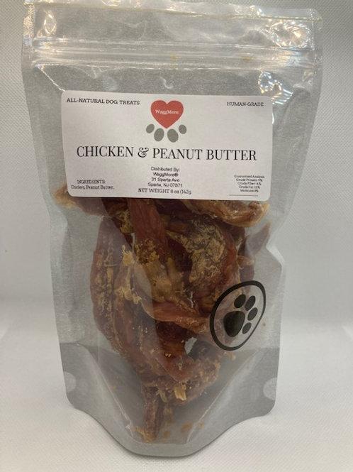 Chicken & Peanut Butter Twists
