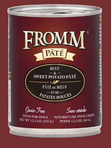 Fromm Pate Beef & Sweet Potato Wet Food