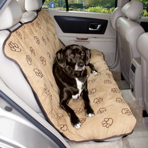 Pawprint Car Seat Covers Give Dogs A Comfy Place To Rest During Trips In The