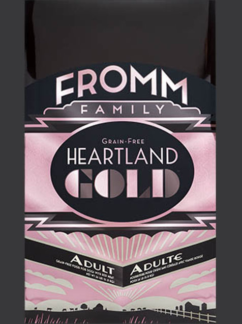 Fromm Heartland Gold Adult Dry Dog Food 12 LBS