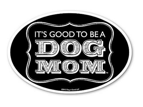 dog is good car magnet (dog mom)