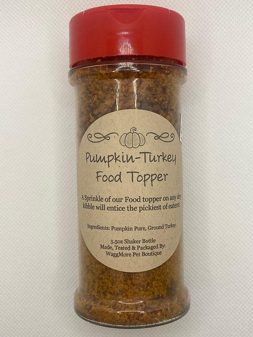 Pumpkin Turkey Food Topper