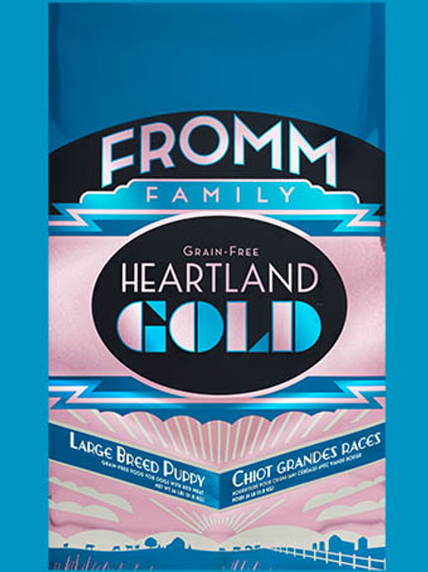 Fromm Heartland Gold Large Breed Puppy 26 LBS