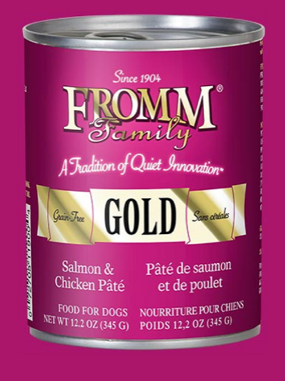 Fromm Gold Salmon & Chicken Pate Wet Food