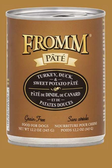 Fromm Pate Turkey, Duck & Sweet Potato Wet Food