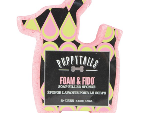 Puppytails Foam & Fido Soap Sponge