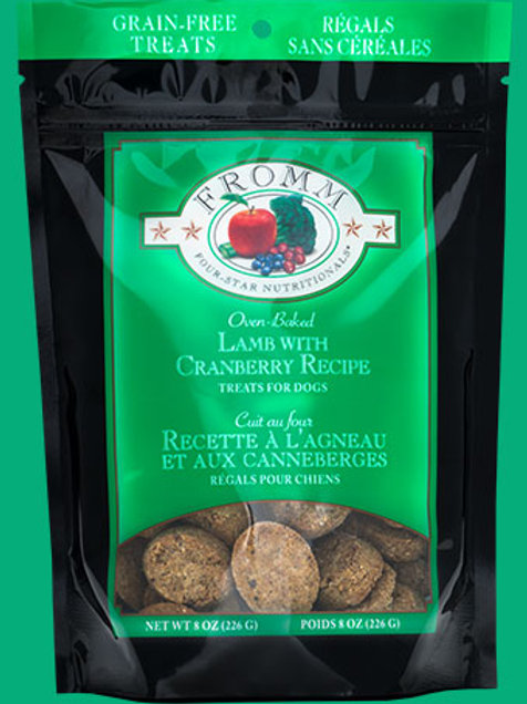 (Grain Free) Fromm Lamb with Cranberry Dog Treats