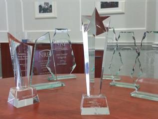 NRF awards this evening
