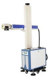 Lazer markalama ,haraketli lazer yazı ,mark on the  fly ,hatta  entegre lazer markalama