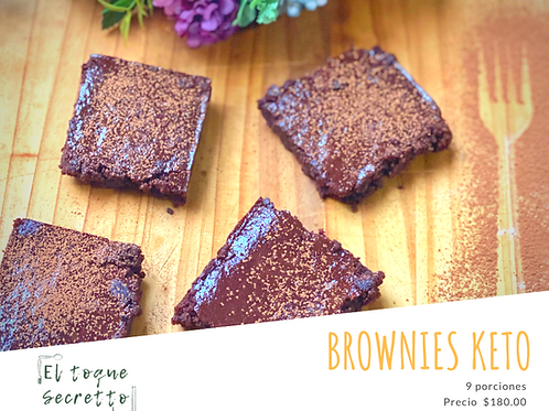 Brownies Keto