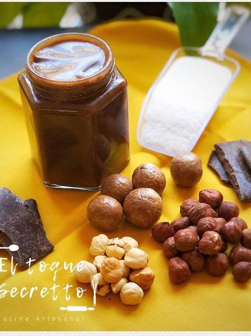 Crema de avellanas y cocoa