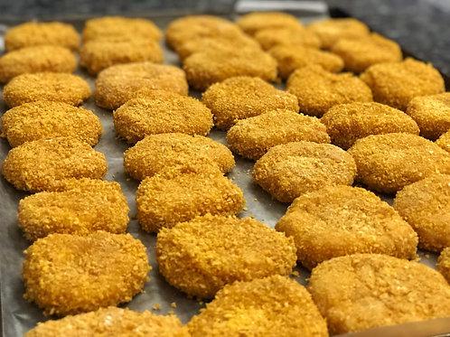 Nuggets de pechuga de pollo horneados