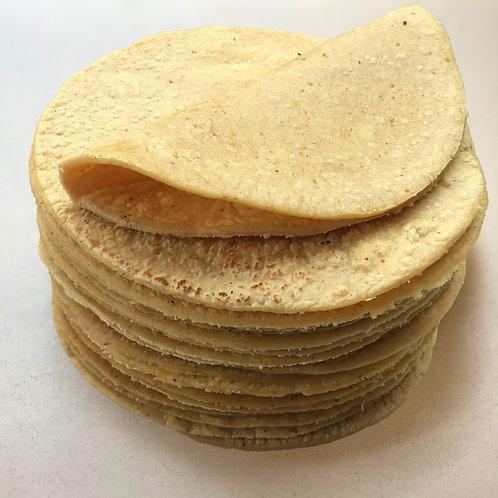 Tortillas de maiz nixtamalizado