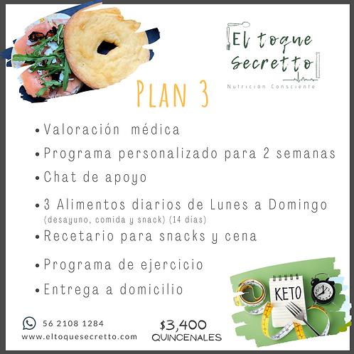 Plan 3 Keto /Low Carb