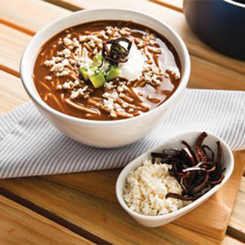 Sopa de Fideo en Caldo de Frijol Ff