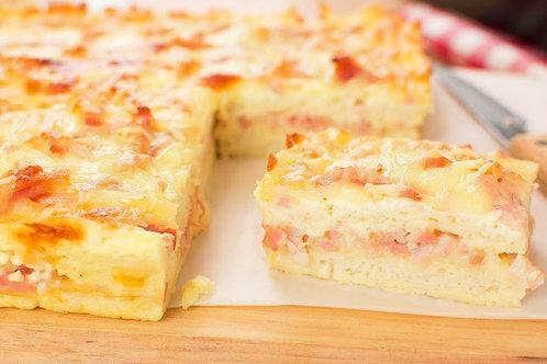 Souffle de jamón y queso