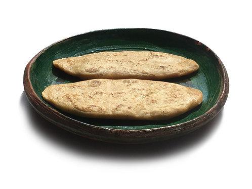 Tlacoyos de maiz nixtamalizado