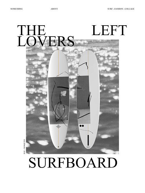 THE LEFT LOVERS PRINT