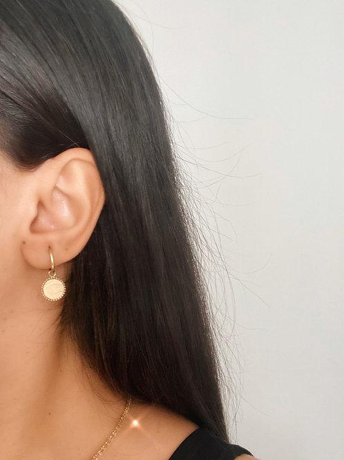 Boucles d'oreilles Iris