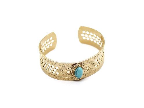 Jonc/bracelet Tahiti Bleu