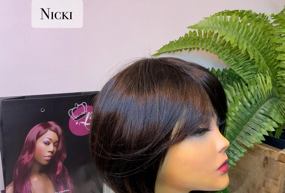 Perruque courte - Nicki